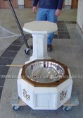 Baptismal and Holy Water Fonts Image 034