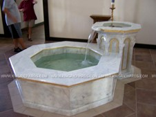 Baptismal and Holy Water Fonts Image 038