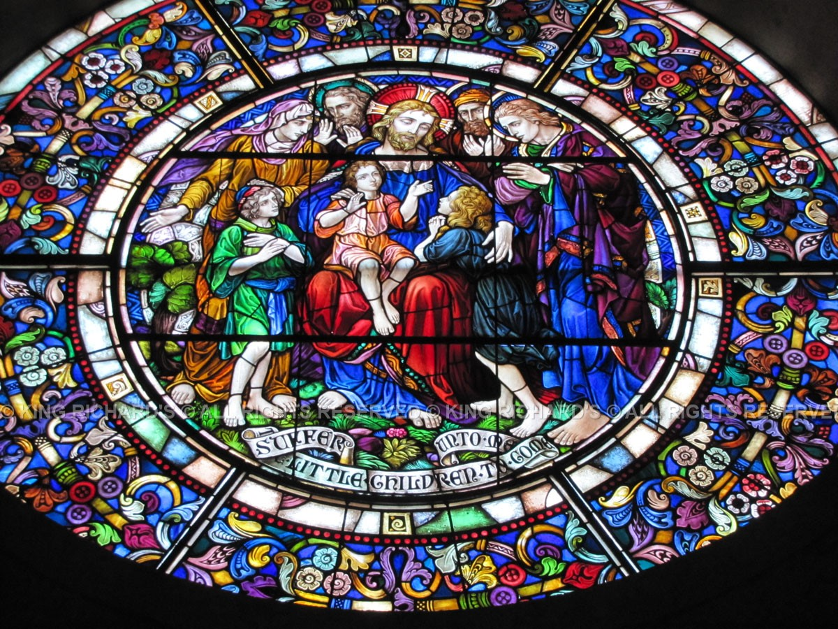 Church Stained Glass Image 151