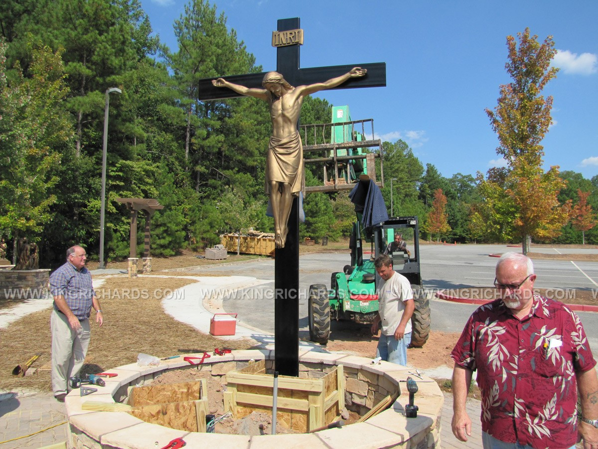Outdoor Stations Of The Cross Projects King Richard S