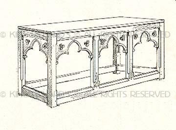 Pleasant Altar Tables New New Gothic Style Hand Made Oak Altar Table Download Free Architecture Designs Xerocsunscenecom