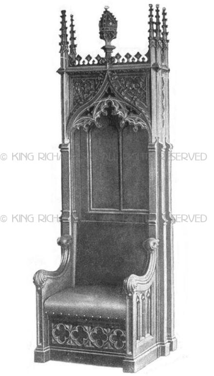 Images For New Wood Or Marble Bishops Chair