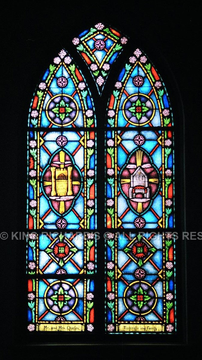 Types Styles Of Stained Glass King Richard S Religious