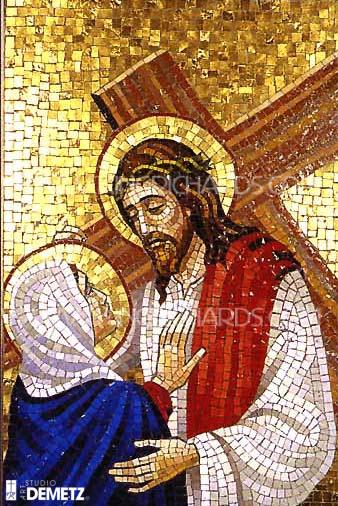 New-Mosaic-Stations-of-the-Cross - Set of Stations of the