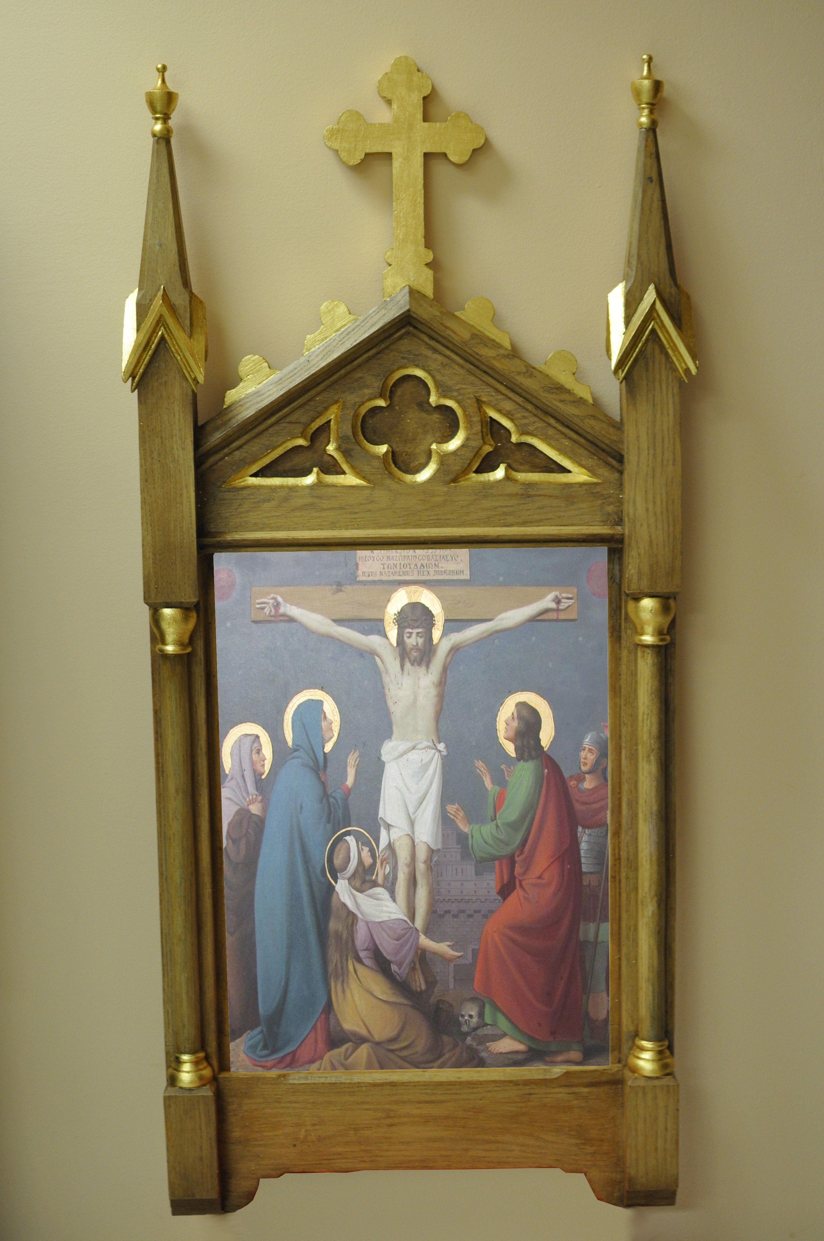 New-Stations-of-the-Cross-Frames - Stations of the Cross Gothic Frames