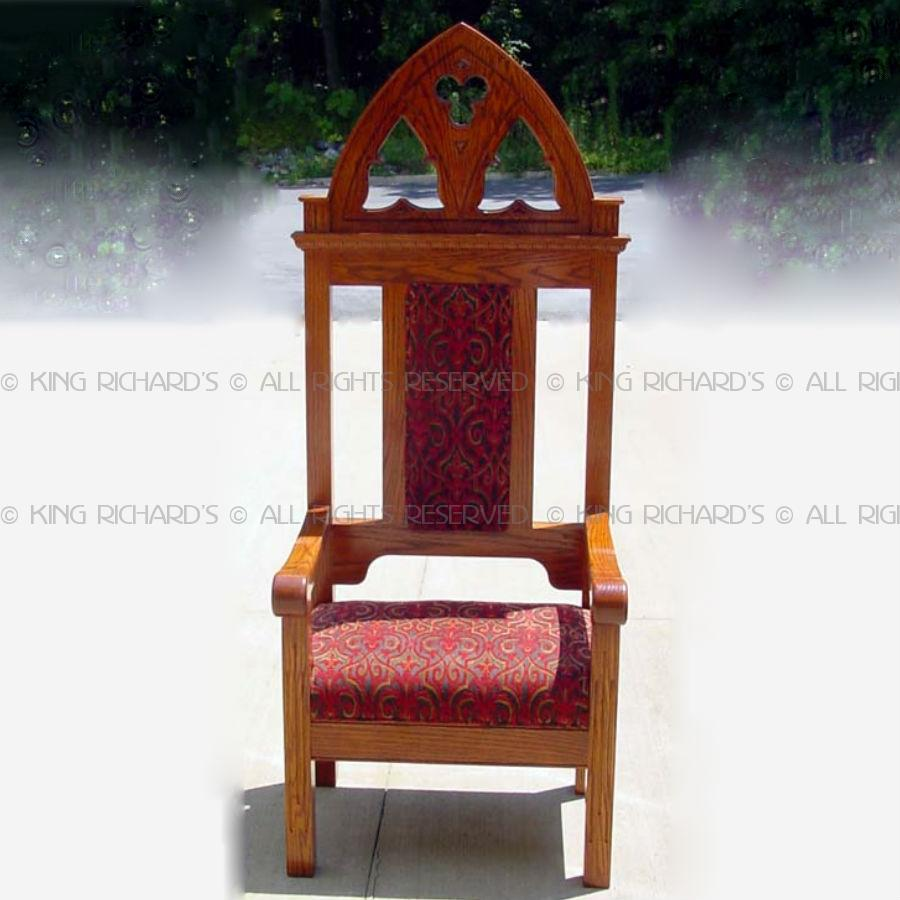 Images For Gothic Style Altar Chair
