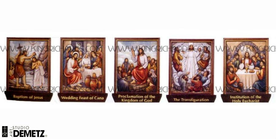 Mysteries Of The Rosary New Luminous Mysteries Of The
